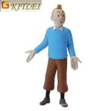 Tin Tin Blue PVC Figure