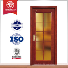 good quality wood door walnut color doors wood glass door design