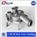 Fabricação sob encomenda aço perdido máquinas de fundição de cera peças mecânicas