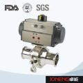 Stainless Steel Pneumatic Sanitary Non Retention Ball Valve (JN-BLV2006)