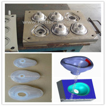 Moldura de caucho de silicona de precisión médica