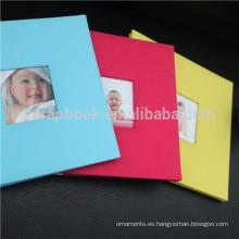 Álbum de fotos de Wholersale 8 x 8, última bebé preciosa grabación de álbumes de fotos