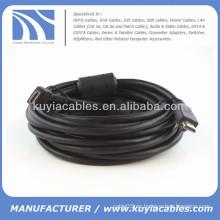 Cable de 15FT HDMI con la base de Ferrit