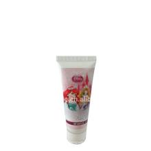 tubos de empaquetado de la crema de la mano extensión del pelo tubos suaves de empaquetado