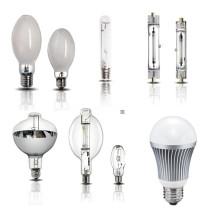 Alta pressão mercúrio lâmpada/alta pressão de sódio lâmpadas/metálico haletos lâmpada/LED luz