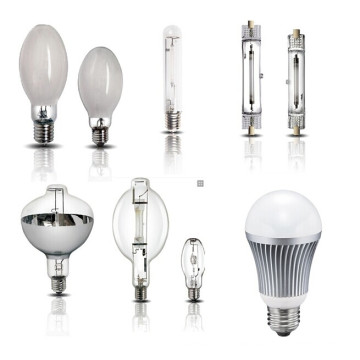 High Pressure Mercury Lamp/High Pressure Sodium Lamps/Metallic Halide Lamp/LED Light