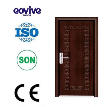 janelas de portas de pvc para porta de membrana do PVC E-P005