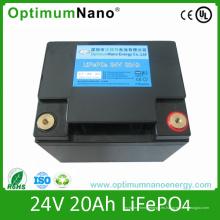 Batería de litio-ion profunda del ciclo 24V 20ah para E-Scooter / Medical Toll / Robot eléctrico