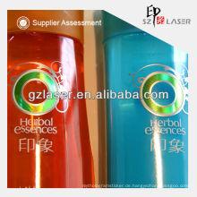 Heißer Verkauf Hologramm laminiert Kunststoff Verpackungsfolie für Shampoo Sicherheit Film