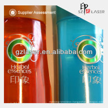 Hot sell hologram laminated plastic packaging film for shampoo security film