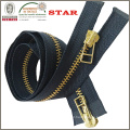 2016 5# Back to Back X Type Metal Zipper for Bags