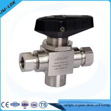"Jiangsu China ss316 micro valve à bille 3/4 """