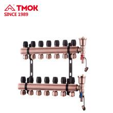 Manifolds pour système de chauffage par le sol utilisation par temps froid Manuel ou automatique