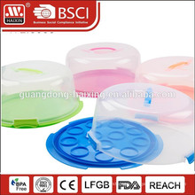HAIXIN food grade PP customized Clear plastic cake box