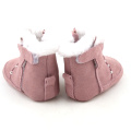 Winter Cute Soft Leather Baby Girls Boots