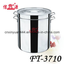 Stainless Steel Soup Barrel with Lid (FT-3710)