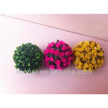 Bola de flor artificial decorativa para decorações de casamento indiano