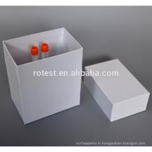 personnaliser boîte en carton cryovial boîte en tube cryogénique