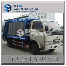 4000L Mini Dongfeng Xbw Müll Compactor Truck