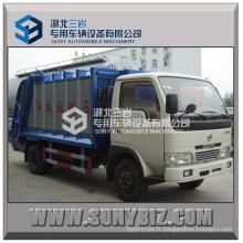 4000L Mini Dongfeng Xbw Compacteur à ordures