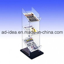 Three Layers Exhition Display Stand / Acrylic File Holder