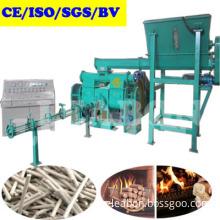 Automatic Wood Sawdust Dust Waste Straw Biofuel Briquette Press Machine