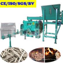 Máquina automática de prensa de briquetas de biocombustible de aserrín de madera