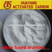 Poudre de polissage calcinée blanche alumine fondue pour réfractaire