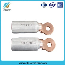 Europe style for Bimetallic Crimp Lugs Cable End Terminal DTL Type Copper Aluminum Connecting Terminal export to Benin Wholesale