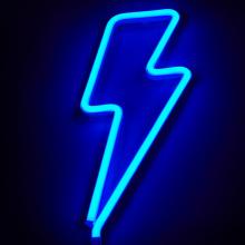 LIGHTNING LED NEON SIGN