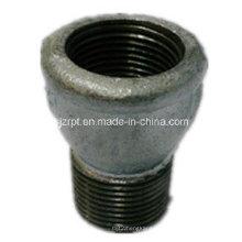 F & M com cercadura Galvanizado Socket Malleable Iron Pipe Fittings
