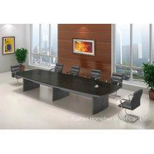 Mesa de reunião de sala de conferência de retângulo de madeira (HF-FHY1001)