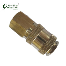 Quick connecting cheap air compressor copper compression fittings