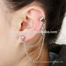 Yiwu Chine fournisseur usine multi-couches boucles d'oreille modèles boucles d'oreilles longues