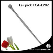 haute qualité en acier inoxydable vente chaude oreille nettoyant / beauté oreille nettoyant