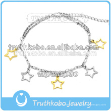 Productos más vendidos Nuevos diseños de brazaletes Gold Star Brazaletes de oro Brazaletes Brazaletes Accesorios