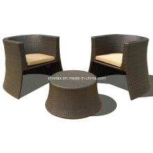 Сада ротанга Стул Бистро Открытый плетеная мебель патио набор