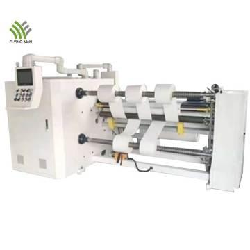 Máquina rebobinadora cortadora de alta velocidad para cinta adhesiva