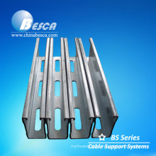 Hot Dip Galvanised Slotted Unistrut / C Channel/ Strut Channel