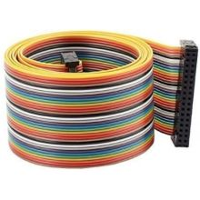 Connecteur 34 broches IDC Flat Rainbow cable