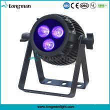 Luz LED PAR de 32 bits con atenuación lineal y luz LED PAR de Rgbaw