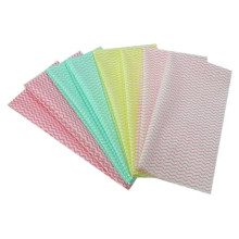 Wave Printed Spunlace Nonwoven