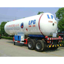 60000 liters high quality propane gas tanker lpg tank semi trailer LPG tank semitrailer/ LPG transport semi-trailer