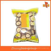 Proveedor de China personalizado impreso pequeño vacío bolsas de sellado para el envasado de alimentos