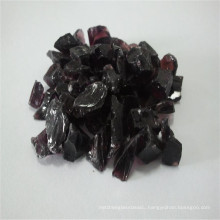 3-6mm Purple Broken/Crushed Glass, Glass Sand for Quartz Stone