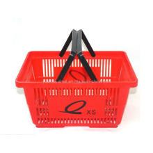 Supermarkt-Einkaufskörbe billiger bunter Korb