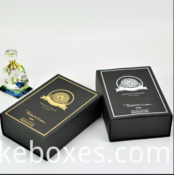 Book Shape Perfume Paper Packaigng Box