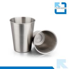 Taza y taza de cerveza de acero inoxidable de gran capacidad de 400 ml