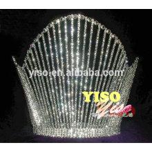 decorated classic design crystal wedding jewelry tiara
