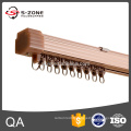 aluminium train style curtain rail for stage